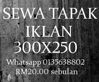 Beriklan Di Blog Hanya RM20 Sebulan