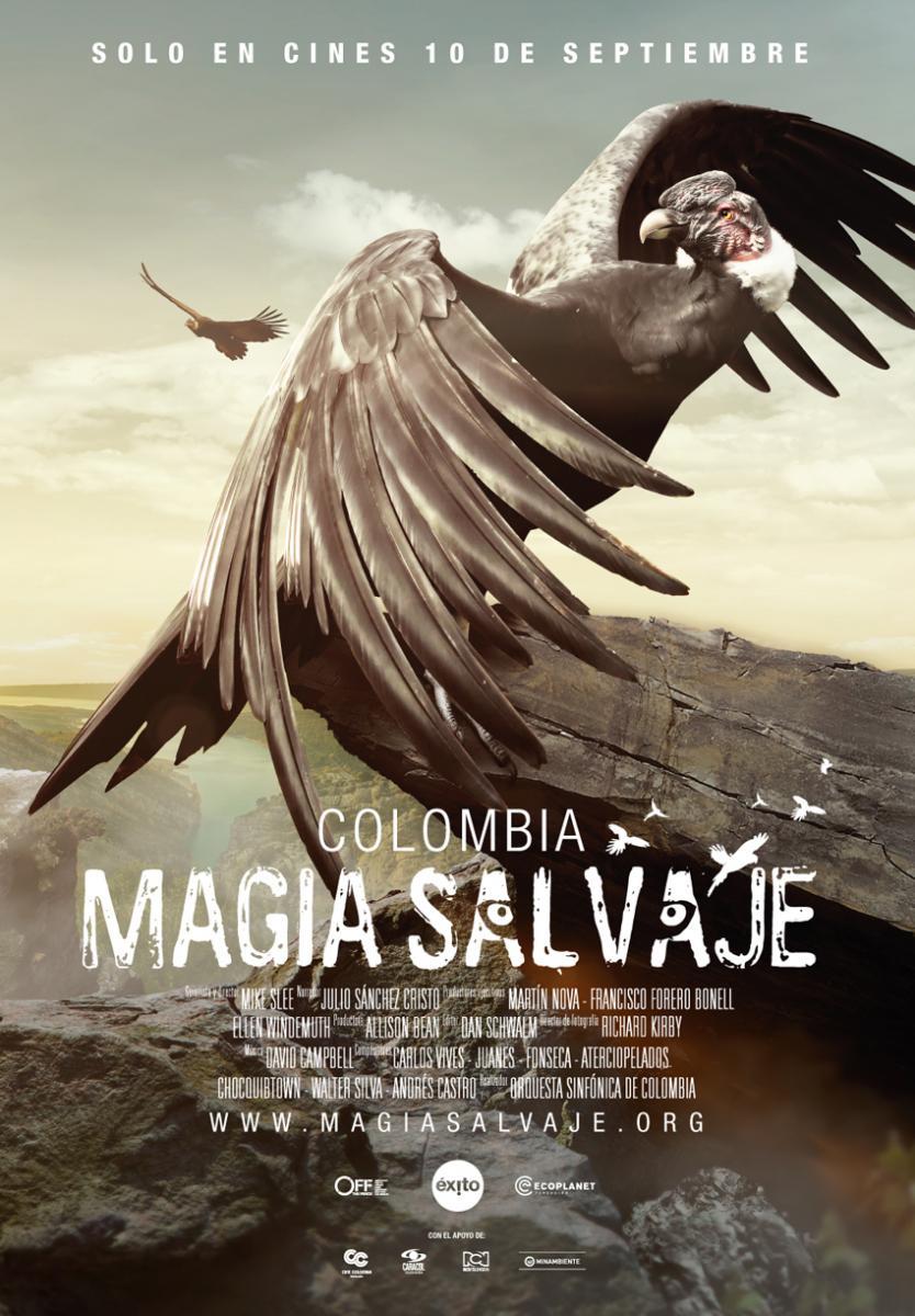 Colombia magia salvaje [2015] [DVDR] [NTSC] [Latino]