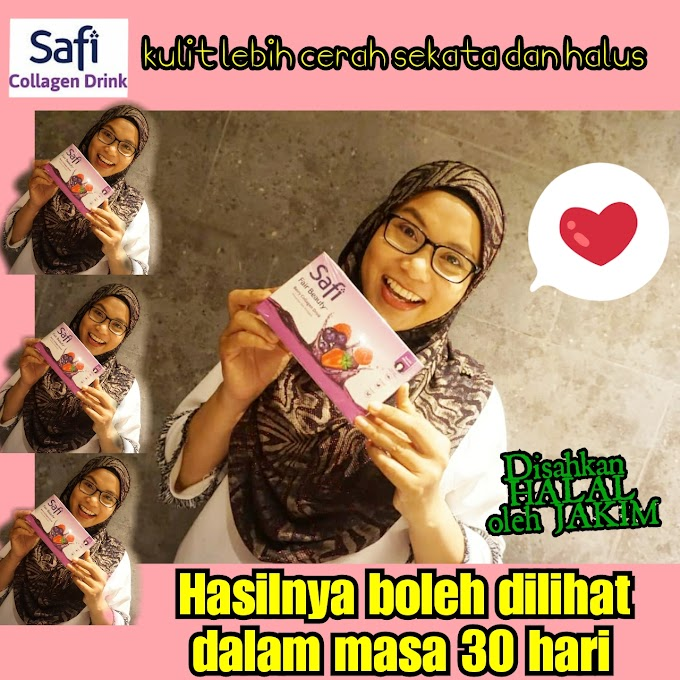 Minuman Beri Kolagen Safi Fair Beauty |  Kulit Lebih Sihat Cerah Sekata & Dijamin HALAL