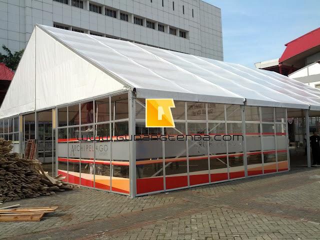 Tenda Showroom, Tenda Pameran