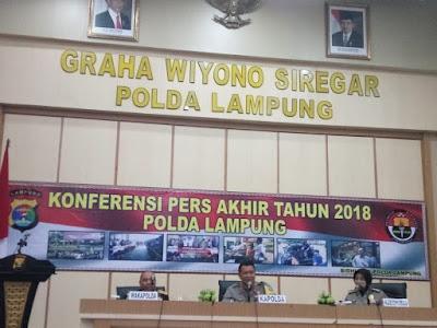 Di Lampung Sebanyak 664 Orang Meninggal Akibat Lakalantas Tahun 2018, Naik Dibanding Tahun 2017