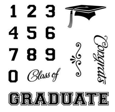 Courtney Lane Designs: Graduation card