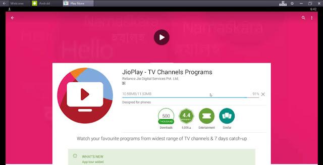 JioPlay Installing