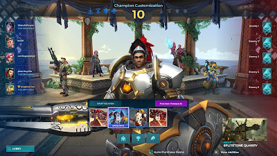 Paladins champion select - Fernando
