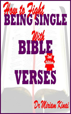 How to Fight Being Single with Bible Verses 2nd Edition teaches you the Bible Verses you can pray as spiritual warfare prayers to get a husband or wife, say as Christian singles affirmations for getting a spouse and reflect on as Christian meditations for acquiring a marriage partner. This Christian Spiritual Warfare ebook also teaches you the physical activities Christian singles can combine with these spiritual interventions to wage effective spiritual warfare against the state of being unhappily single and unmarried.