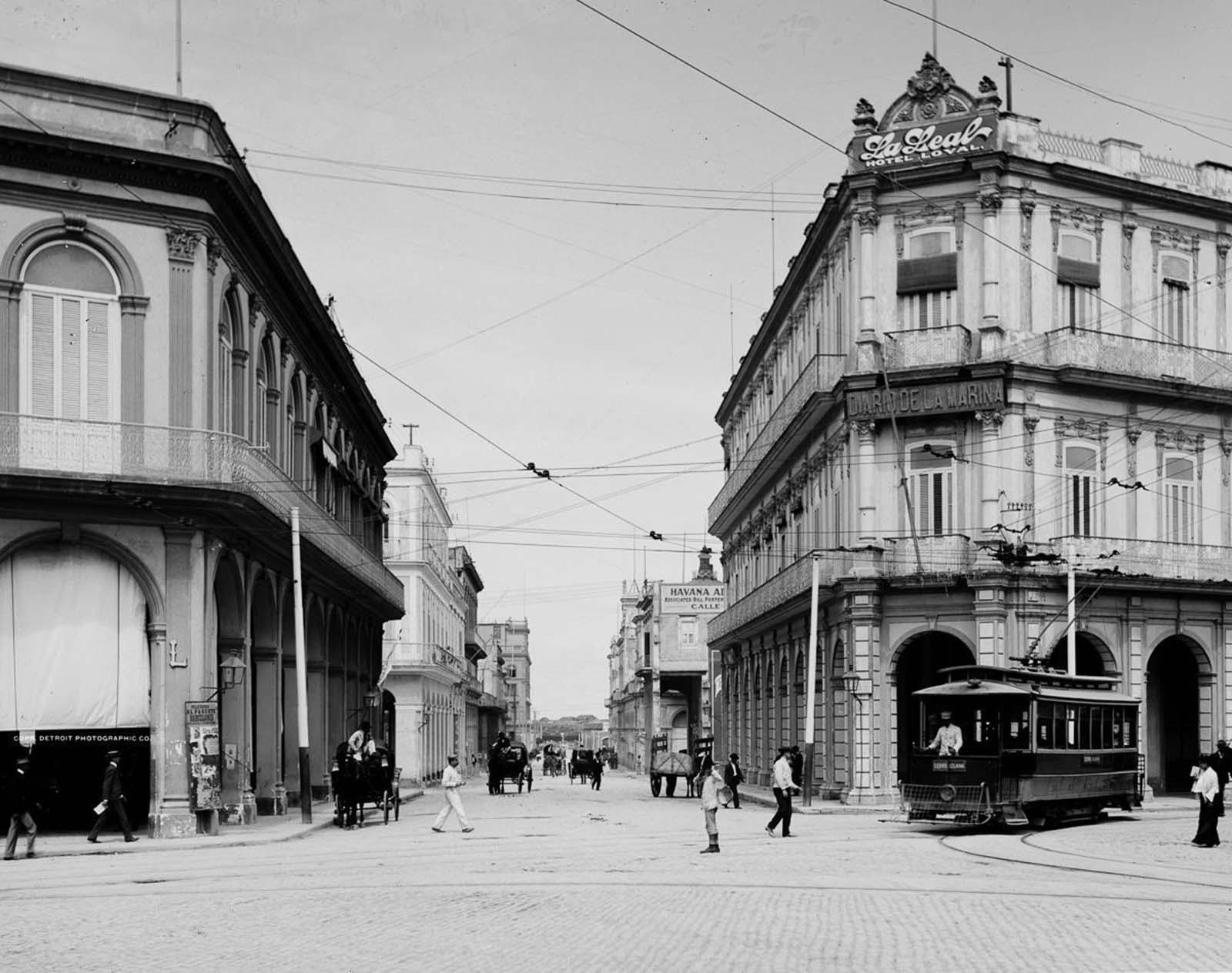 Avenida Zulueta. 1900.