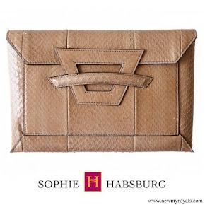Queen Maxima carries Sophie Habsburg clutch