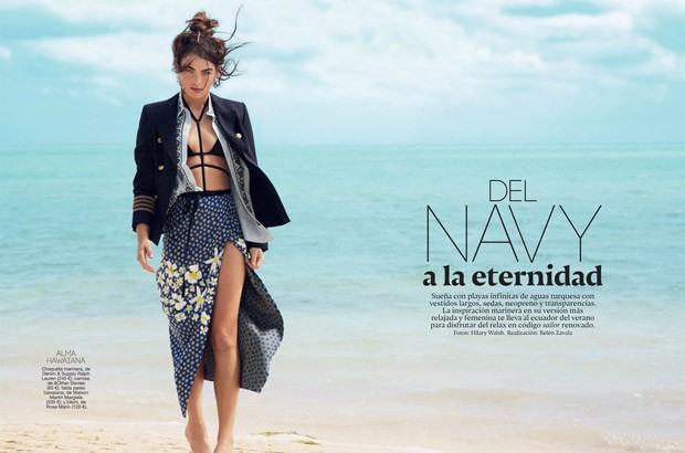Bambi Northwood Blyth - Glamour Spain August 2015