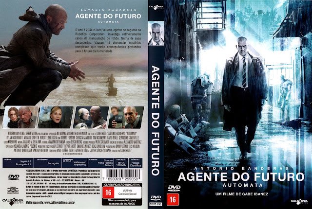Capa DVD Agente do Futuro
