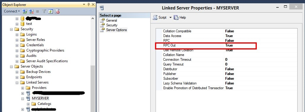 Call User-defined Function on Linked Server :SQL Server
