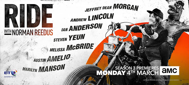 ride with norman reedus fourth season