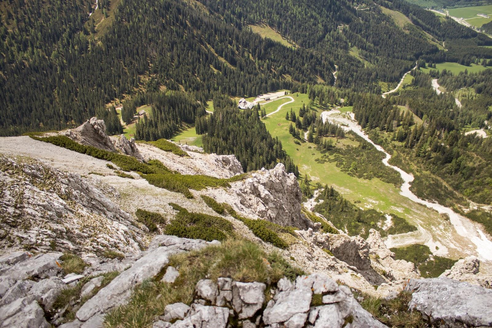 Mittelschwere Bergtour auf den Kalbling und Sparafeld im Gesäuse - Wanderung in der Steiermark