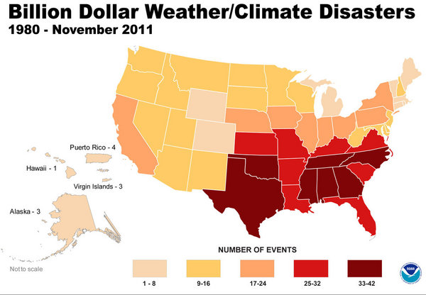 Most Expensive Natural Disasters In The United States