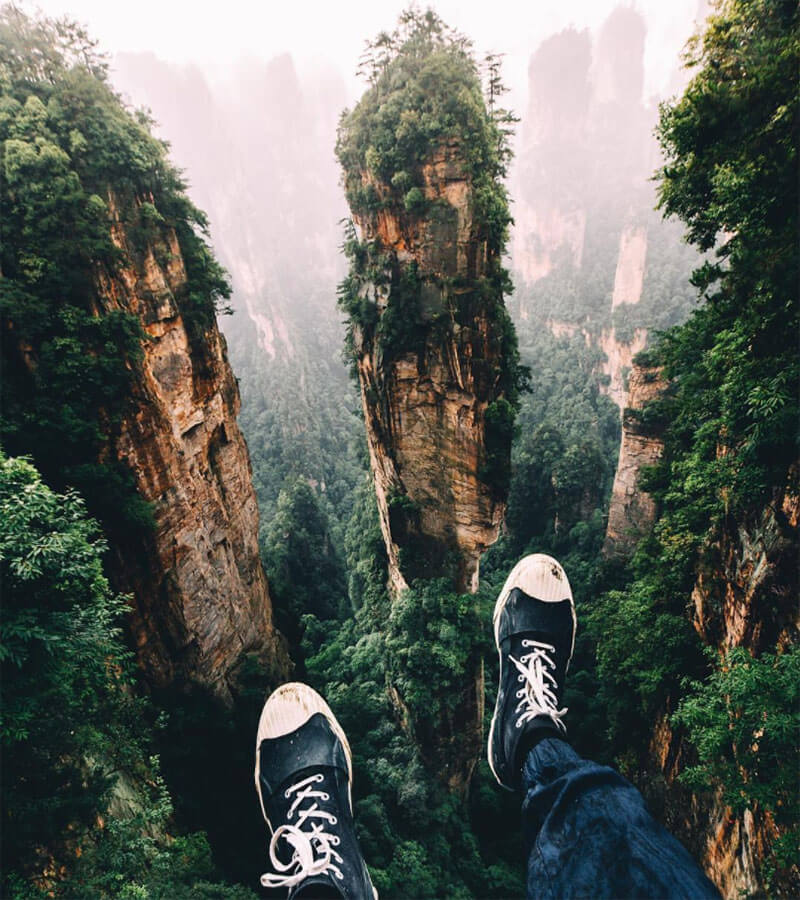 32 Stunning Places on Earth You Should Visit Before You Die - Zhangjiajie National Forest Park, China