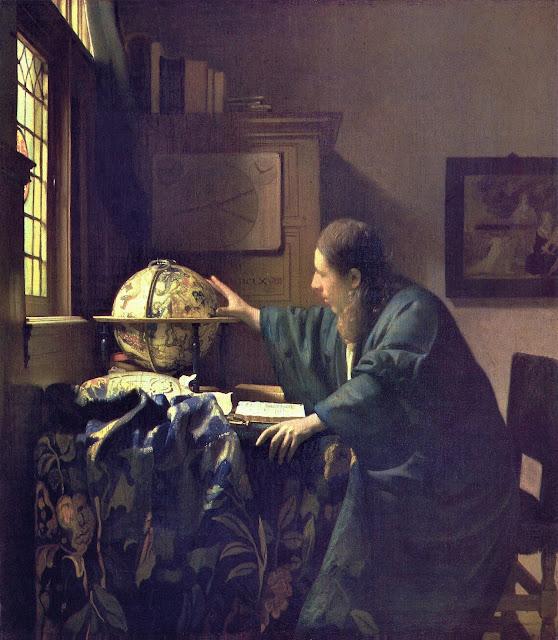 Johannes Vermeer - El astrónomo - 1668