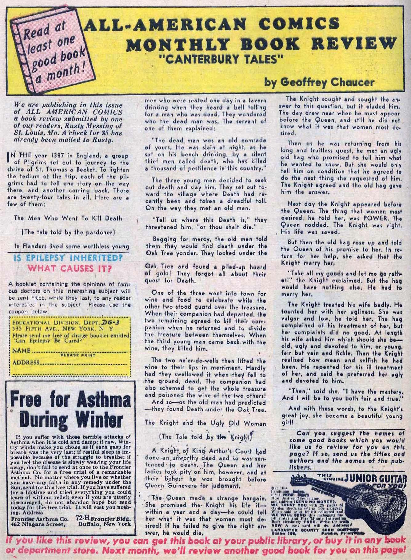 Read online All-American Comics (1939) comic -  Issue #24 - 48