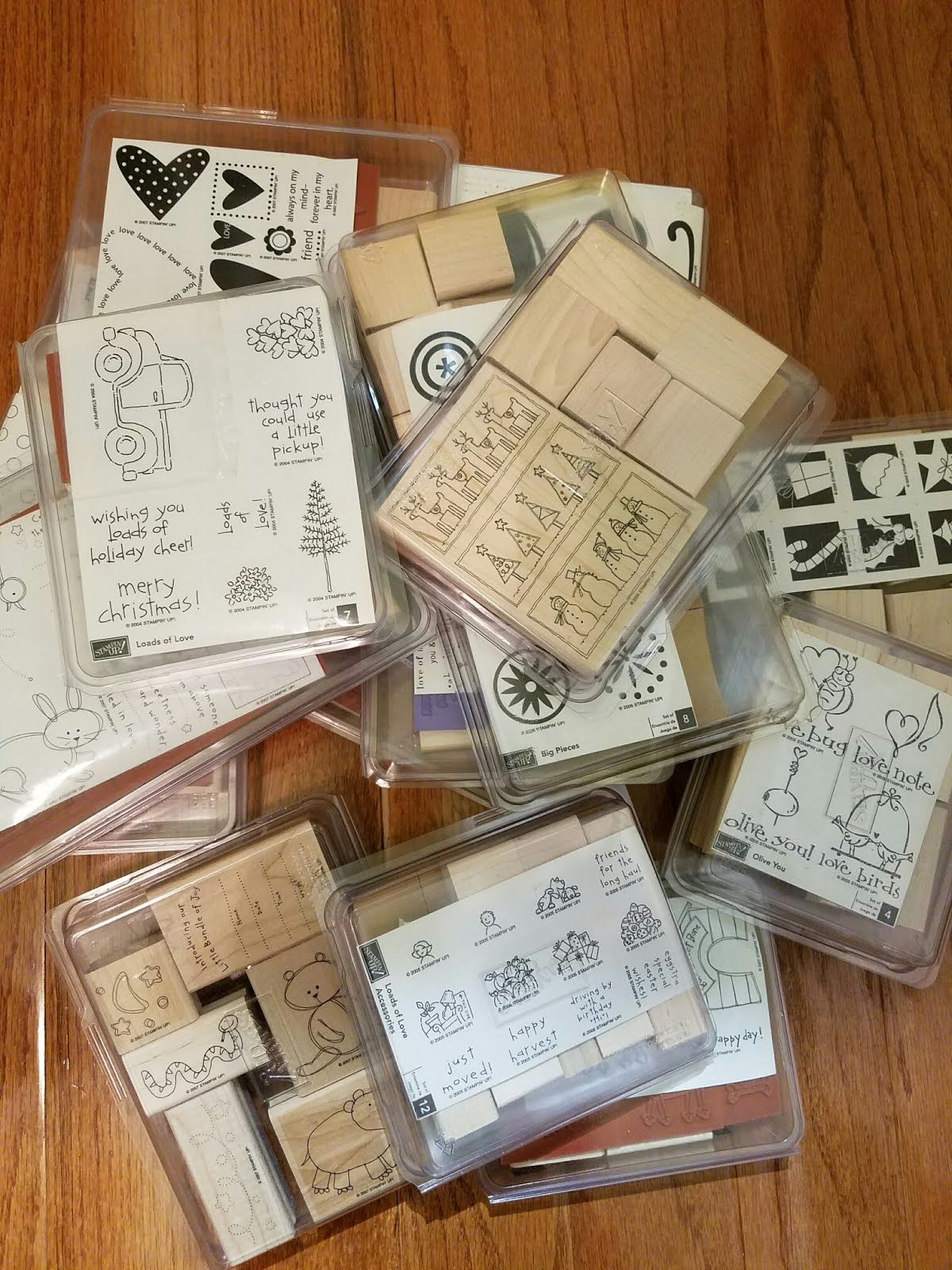 STAMPIN UP STAMPS FOR-SALE