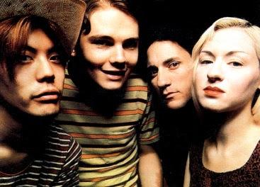 Rostros de los miembros de The Smashing Pumpkins