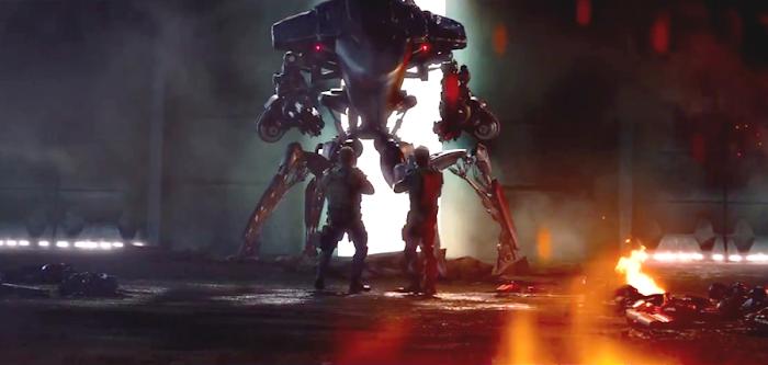 John Connor şi Kyle Reese luptă cot la cot în Terminator: Genisys