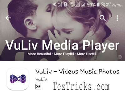 """Here is an another amazing offer by Vuliv app. """"Vuliv is Media Player:- Beautyful,Playful and Useful"""" app through which you can minimise your audio,video & Photos . And for their promotion now they are offering Rs.20 Paytm /Mobikwik /Udio /Oxigen etc. And these offers are only for old users of Vuliv app. So if you are already registered customer of Vuliv app then without wasting your Time further proceed and grab Rs.20 Wallet balance in any of these wallet eg. Paytm /Mobikwik /Udio /Oxigen . So follow below simple steps & Get this Offer by Vuliv App.     Steps To Follow To Grab This Offer:-    1. At first download & Install Vuliv Media Player App from Here.   2. Then Click on Up side left corner as shown in figure.    3. Then You can See Screen like as shown in below. And Click """" Live """" Section .   4. After Clicking on Live You have been asked to enter Your registered mobile Number .   5.After Submitting Your Number Verify with OTP .  6.After Sucessfully Login In the top of application You can see sliding offers.   7. Slide Twice and when you see screen like thin click on """"Access Your Mobile Wallet """"   8. After Clicking on """"Access Your Mobile Wallet """" You can see Screen Like this. Click on Any of the wallet in which you want to grab money .    9. After Clicking on Any one of the Wallet 's Grab Option You have been asked for Enter OTP . Enter that OTP and After you can see Screen Like this .    10. Finally Click on Grab.  Boom!! Within few Minutes You Received Your Rs.20 In Your Wallet Which You Have Selected either Paytm /Mobikwik /Udio /Oxigen.   Proof     Vuliv Media Player Features :-    Photos  Find all your pictures neatly sorted here, click your most beautiful moments and share them with VuLiv! Enjoy your pictures in a slideshow mode with SlideVu.  • Just tap to add a pic, video or music as Favourites • Change your WhatsApp DP with ease • Choose your preferred view. Sort by folder or by date.  Videos  The video player comes loaded with features. AutoVu to auto"""
