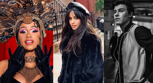 Camila Cabello, Cardi B and other huge stars performing in Grammy's 2019