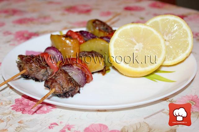 как приготовить сувлаки из свинины (греческая кухня)