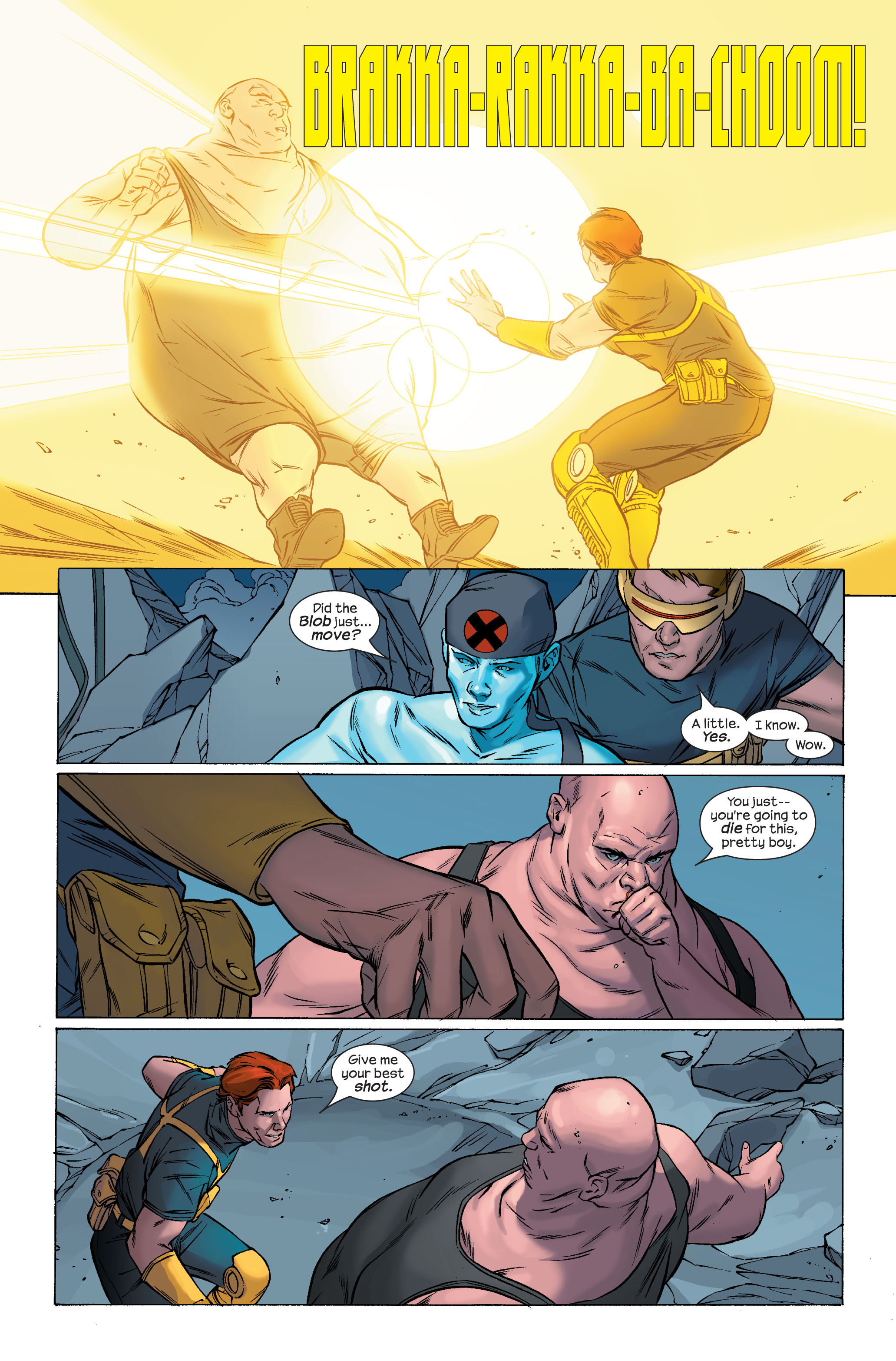 Read online Ultimate X-Men comic -  Issue #70 - 20