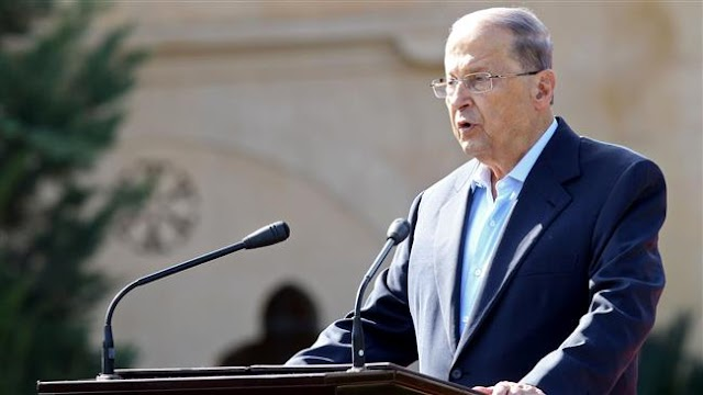 Lebanon's President Michel Aoun pledges to root out corruption