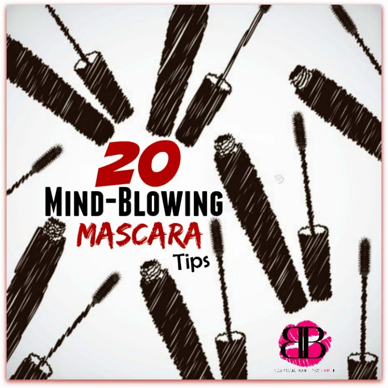 20 Mind-blowing Mascara Tips & Tricks By Barbie's Beauty Bits.