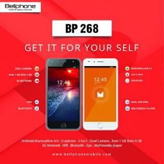 Cara Flashing Bellphone BP 268 Bootloop