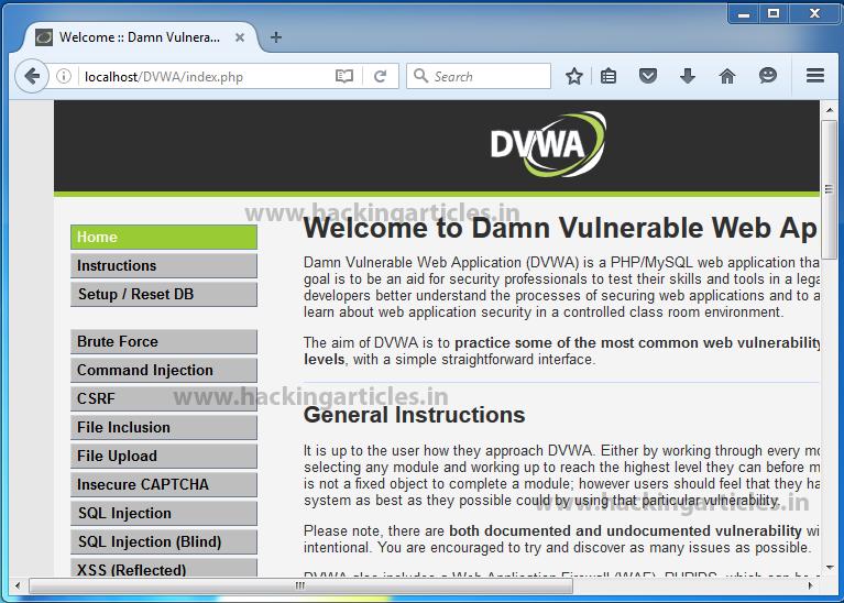 Setup Web Penetest Lab for Beginners using DVWA and OWASP Mutillidae II