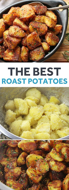 The Most Flavorful Crispy Roast Potatoes Ever Recipe
