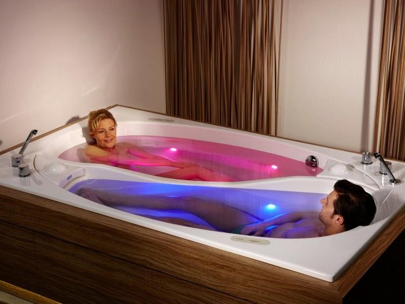 Luxury Life Design: Romantic Yin Yang Couple Bath