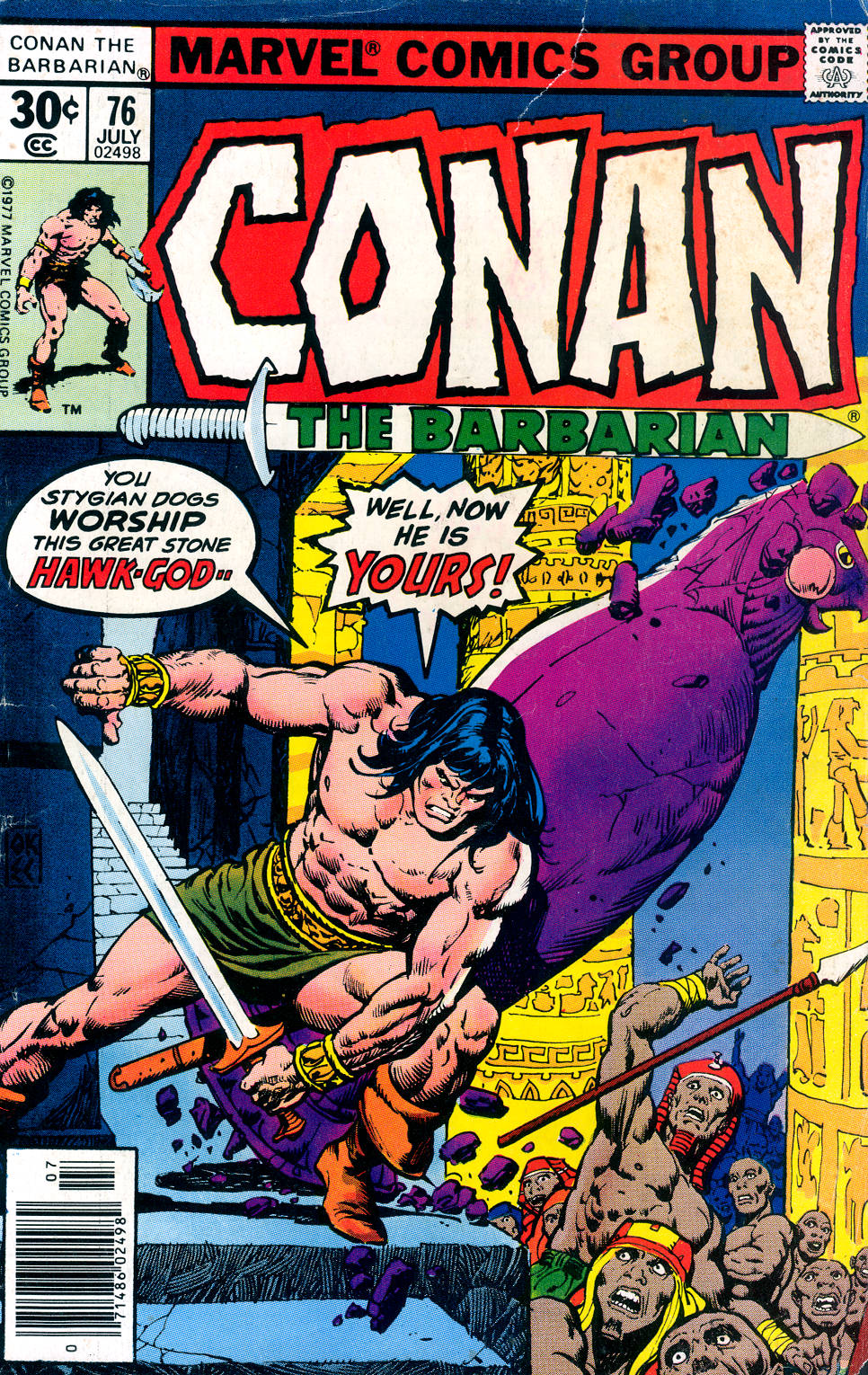 Conan the Barbarian (1970) Issue #76 #88 - English 1