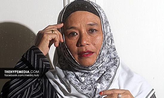 Pelakon veteran Wan Maimunah dilaporkan telah bercerai?