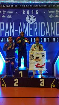 Registrense conquista vitórias em competições de jiu-jitsu