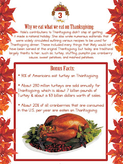 here are some bonus facts about thanksgiving day