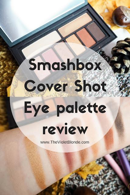 Smashbox Cover Shot Eye palette in Ablaze review