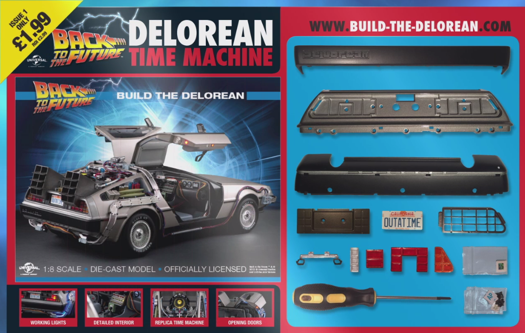 Great Scott! Now you can build your own Back to the Future ...