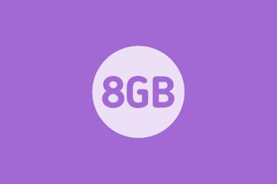 Paket Internet AXIS 8GB 25Rb