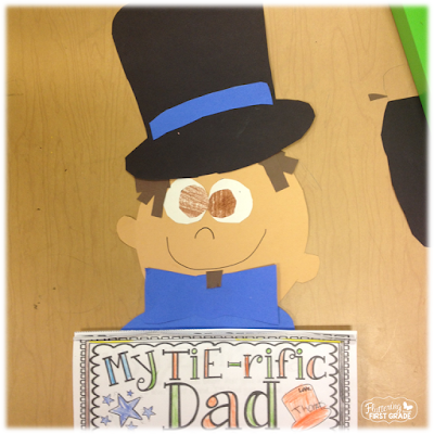 Father's Day craft for the classroom