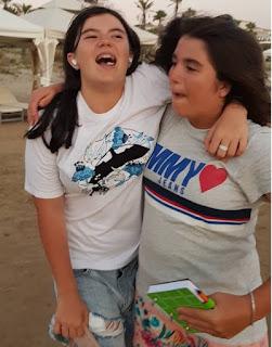 Елизавета и Лиза Игдеджи - фото вместе