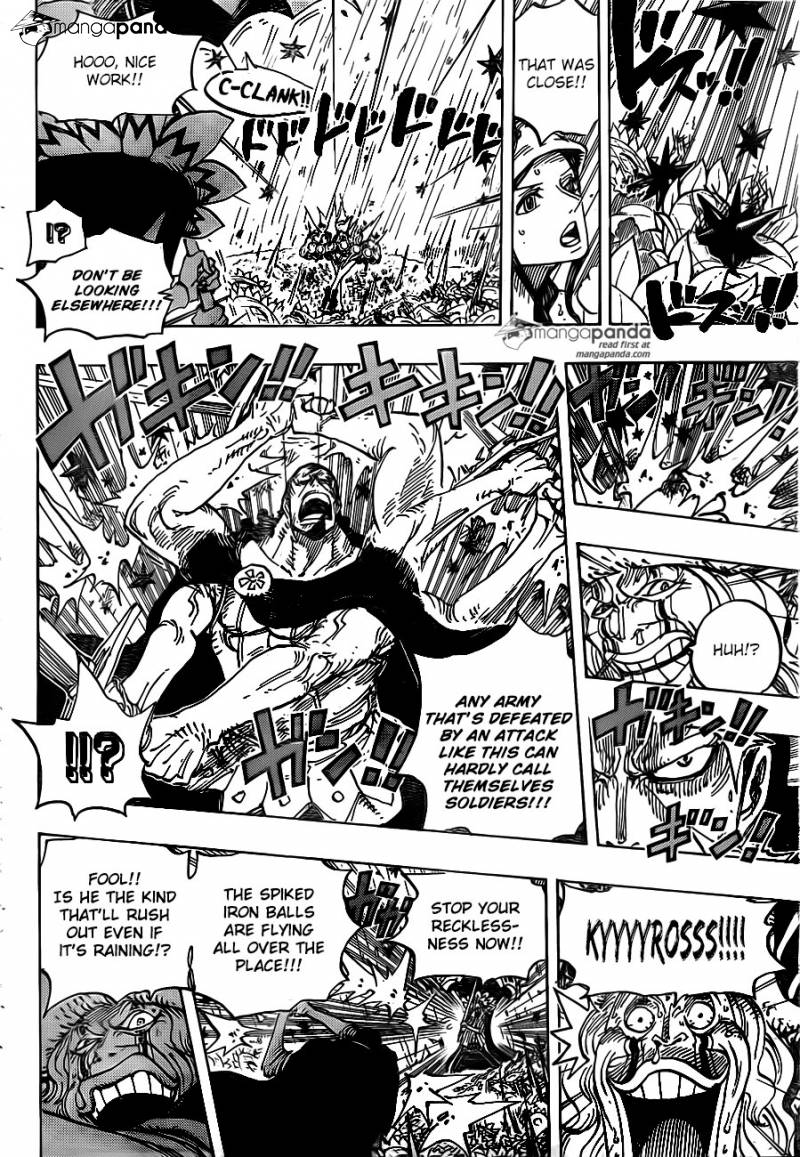 One Piece Ch 776: The Coliseum Hero