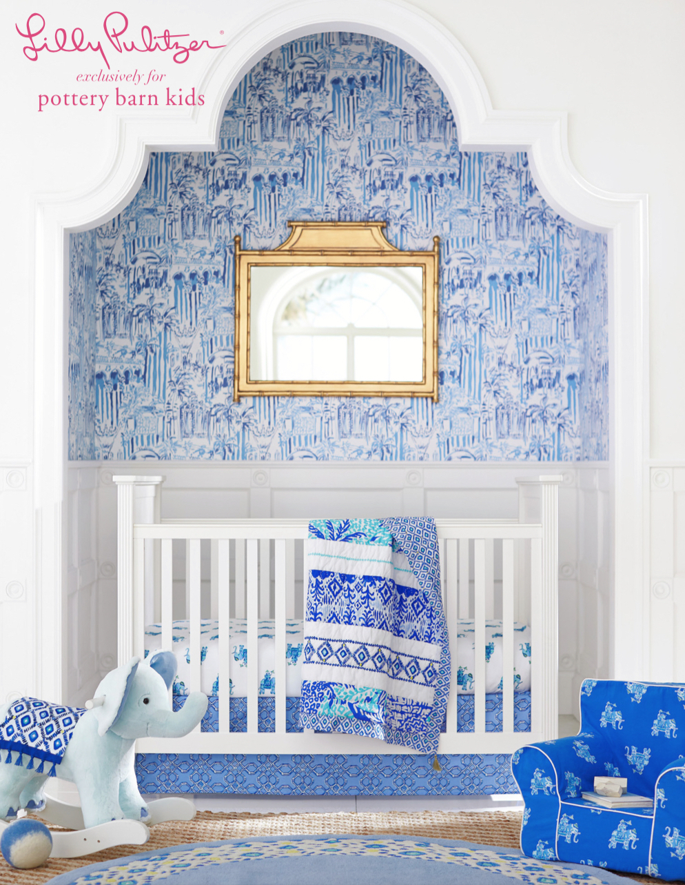 Haute Indoor Couture: Lilly Pulitzer for Pottery Barn!