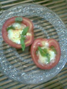 warm insalata caprese