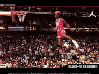 Basketball player Michael Jordan