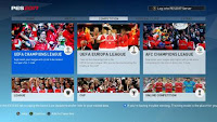 PES 2017 Arsenal Graphic Menu