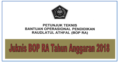 merupakan Petunjuk Teknis pola Bantuan Operasional Pendidikan bagi Raudlatul Athfal di T info OPS :  Download Juknis BOP RA Tahun 2019 Terbaru