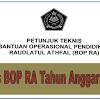 Download Juknis BOP RA Tahun 2019 Terbaru