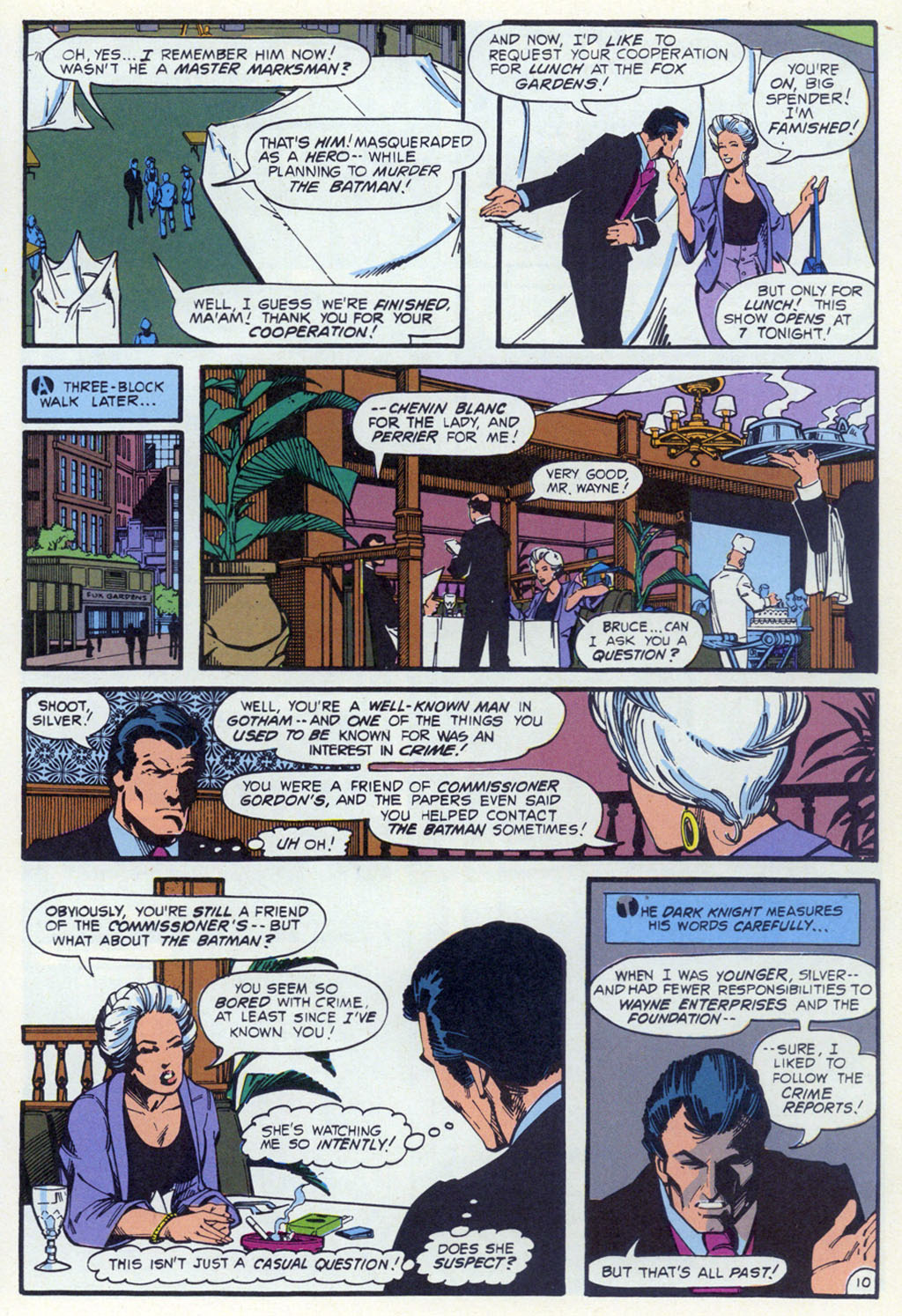 Read online Shadow of the Batman comic -  Issue #3 - 31